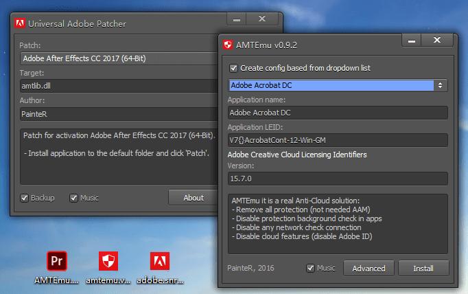 AMT Emulator 0.9,Adobe批量授权工具,Adobe授权解除工具,Adobe授权解除工具,Adobe全系列激活破解工具,Adobe注册机,Adobe破解补丁,Adobe激活工具,Adobe授权码,Adobe通用破解补丁,Adobe正版模拟器,AMTEmu补丁,AMT Emulator补丁,PS破解激活工具