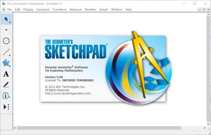 几何教学软件GSP几何画板Sketchpad v5.6.5 Win绿色版