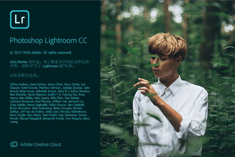 Adobe Photoshop Lightroom CC 2019