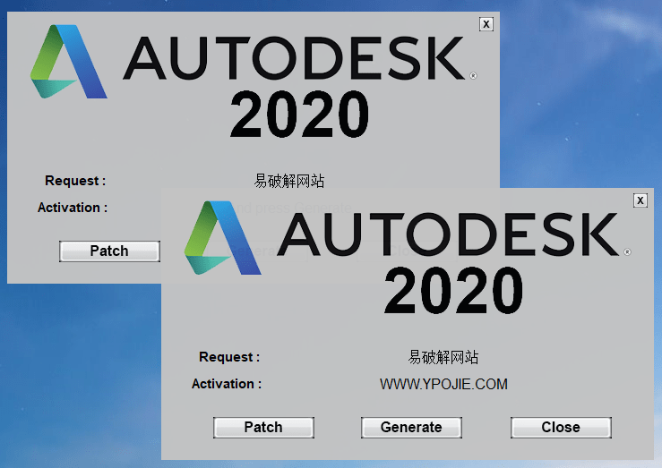 Autodesk 2020 KeyGen